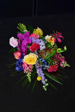 Rouwstuk Bloemist KAS Nieuwveen Rouwboeket bloemen Nieuwkoop Uitvaart