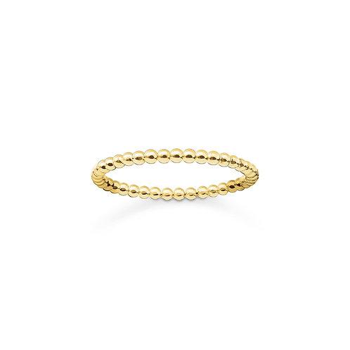 Thomas Sabo Ring - Dots 750 Gelbgold