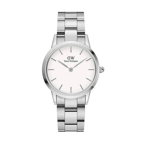 Daniel Wellington Quarzuhr - Iconic Link Silber 32mm