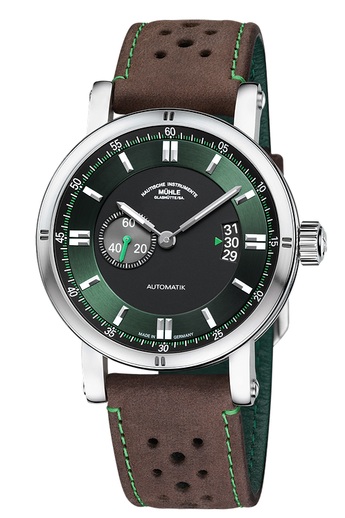 "Mühle-Glashütte Automatic TEUTONIA SPORT II ""RACING GREEN"""