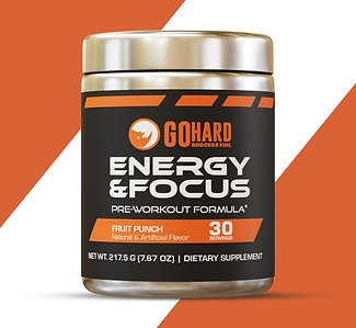 GoHard PreWorkout Energy & Focus