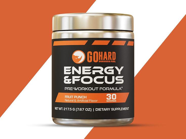 GoHard PreWorkout Energy & Focus