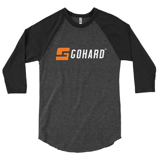 GoHard 3/4 sleeve raglan shirt