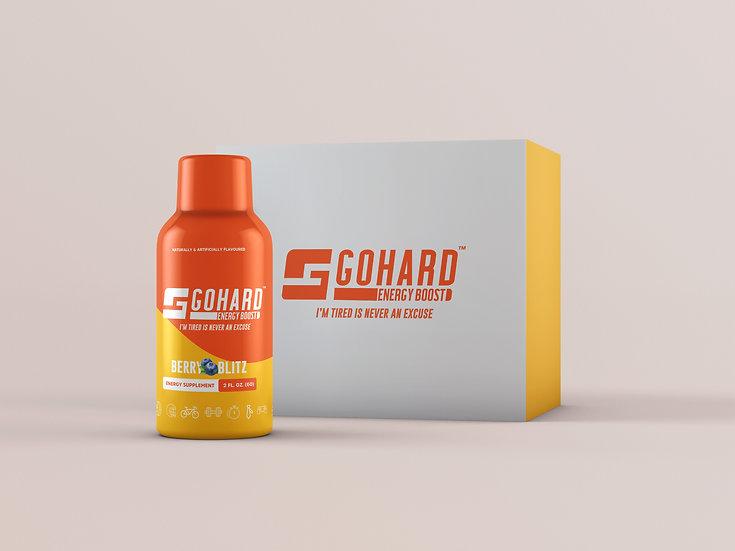 GoHard Energy Shot (12 pack)