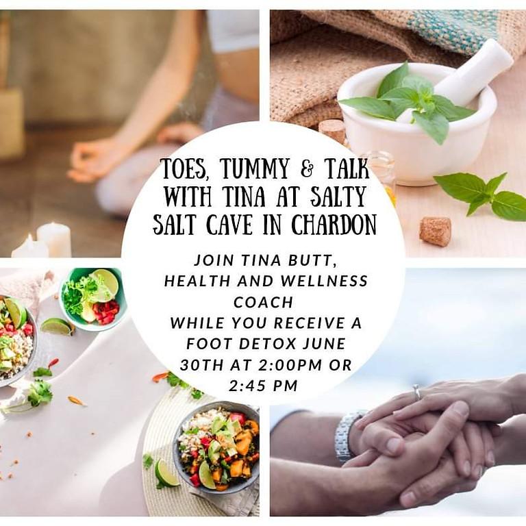 Toes, Tummy & Talk with Tina