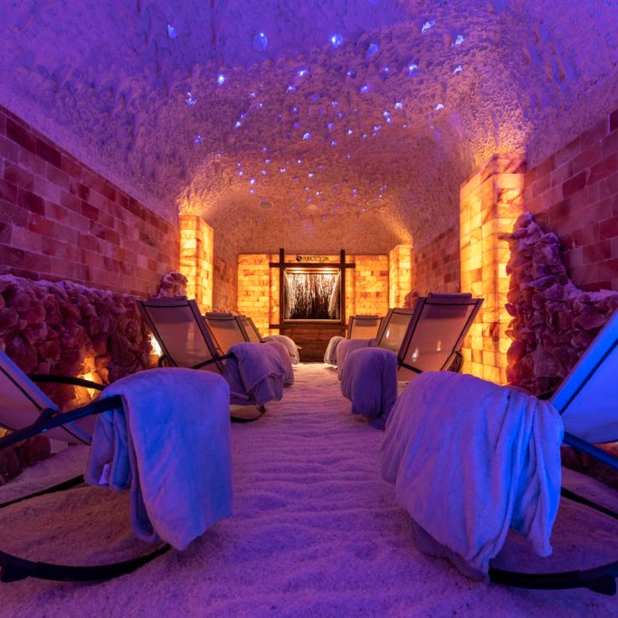 Private Yoga in the Salt Cave