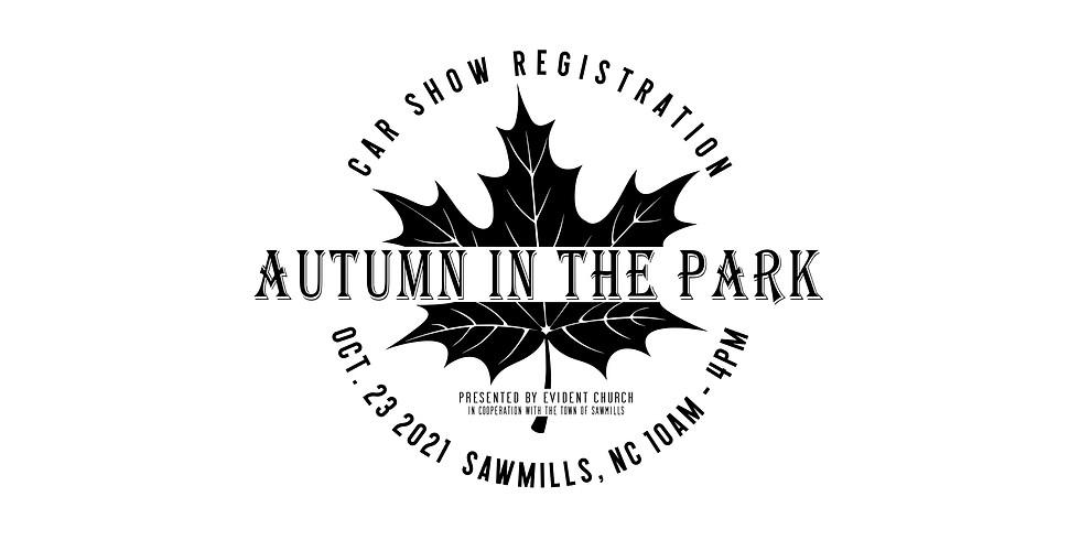 Autumn In The Park Car Show