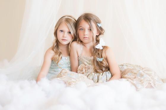 Little Girls' Styled Sesh {Dallas Child Photographer}