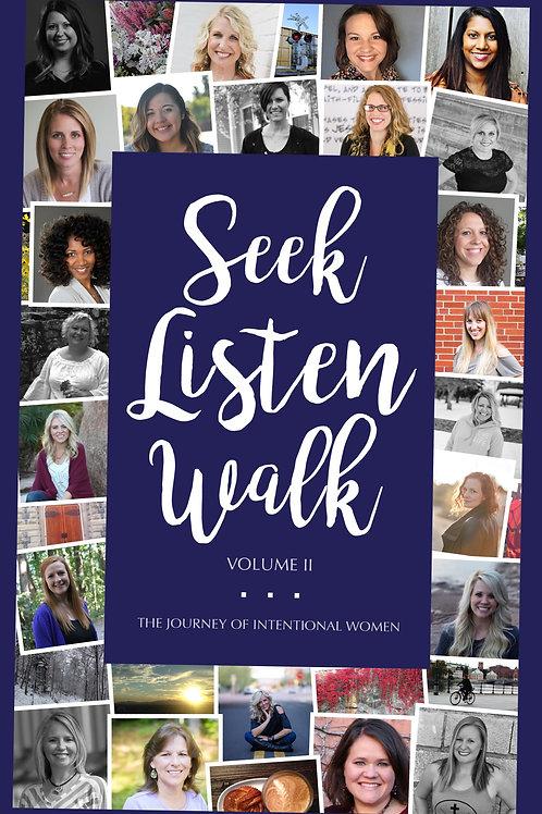 Seek Listen Walk Devotional - Volume II