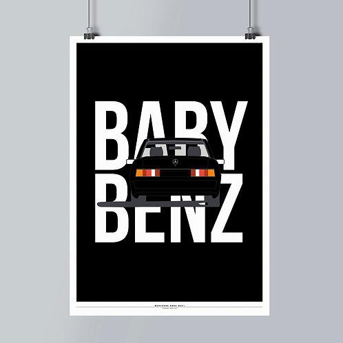 MERCEDES-BENZ W201 Rear