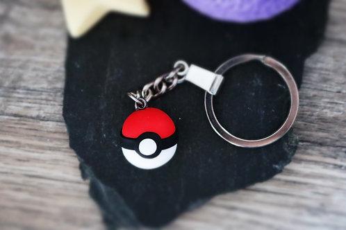Porte clés Pokeball Pokémon fimo artisanal