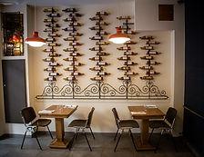 Salle restaurant Racines Nice