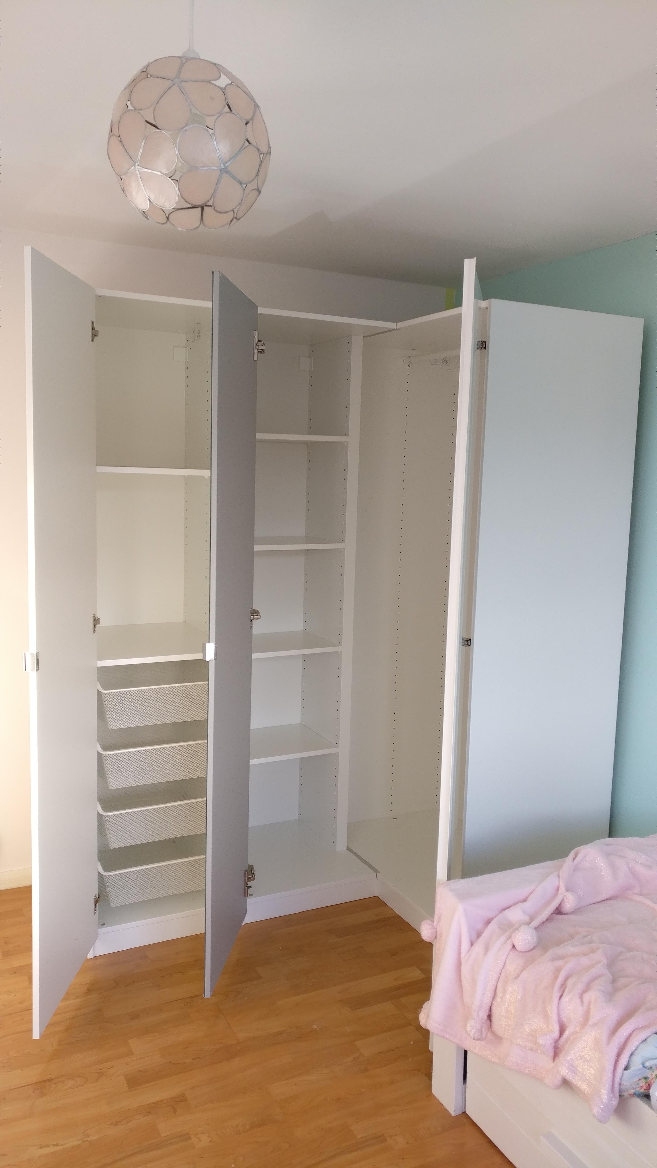 IKEA Pax Corner Wardrobe