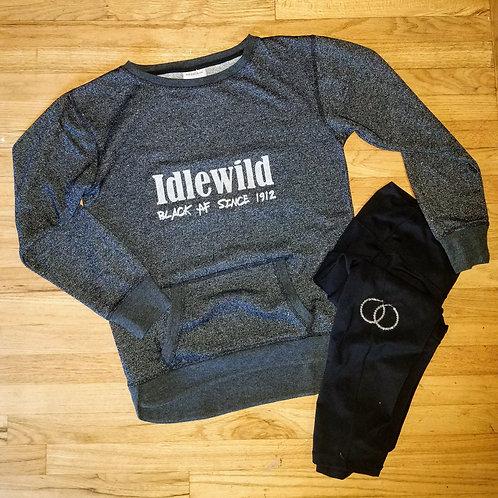 "Glitter ""BLACK AF"" Sweatshirt (Women's)"