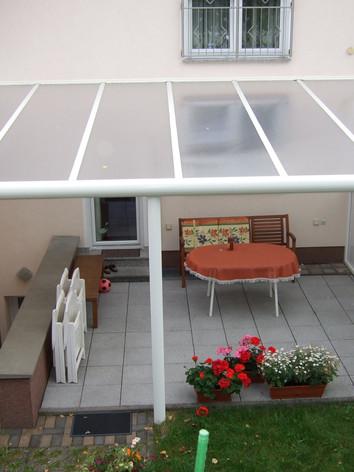 Terrasse geschlossen