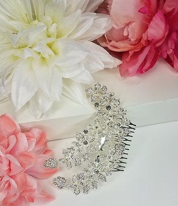Ornate Rhinestone Hair Comb