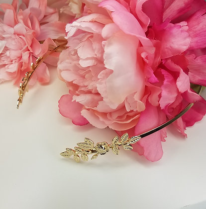 Gold Leaf Grecian Headpeice