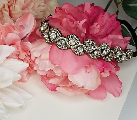 Stretch Rhinestone Headband