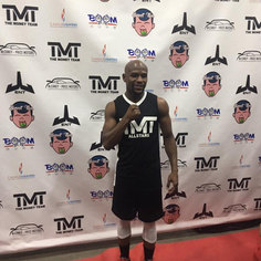 Charity event with Floyd Mayweather