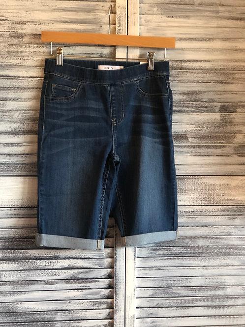 CELLO Long Jean Shorts