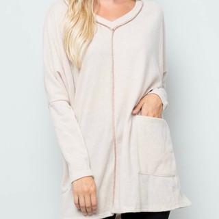 Celeste Front Pocket Sweater