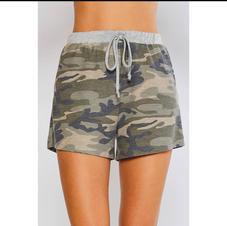 Blu Ivy Camo Lounge Shorts