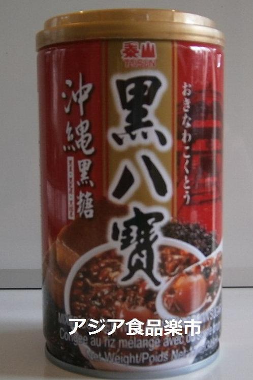 泰山 黒八宝粥(黒糖味)  340g