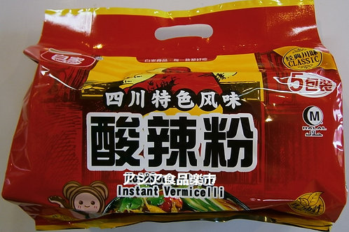 白家 正宗酸辣方便粉絲  525g(105g×5袋)