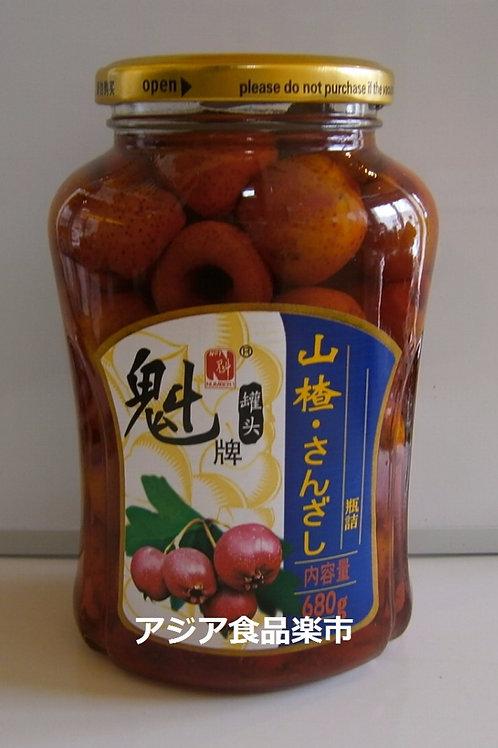 魁牌  山楂罐头 680g