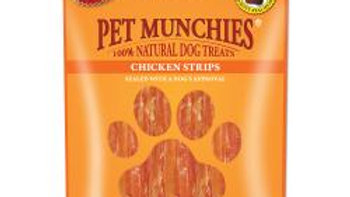 Pet Munchies Chicken Strips 90gr