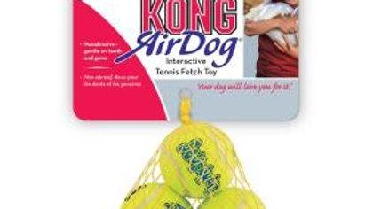KONG Airdog Squeaker tennis balls 3pk