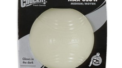 Chuckit Max Glow Ball 1 Pack Medium 6.5cm