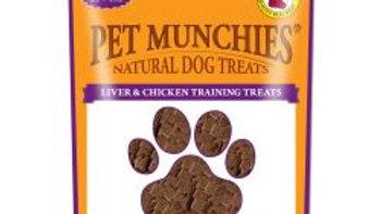 Pet Munchies Natural Liver & Chicken Training Treats Super Value Pack, 150g
