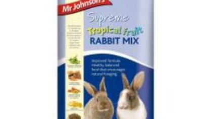Mr Johnsons Tropical Rabbit Mix 900g