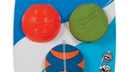 Chuckit Fetch Medley 2 Assorted Medium (3Pk) 6.5cm