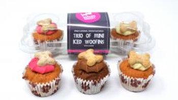 Barking Bakery Woofin Mini Iced Trio, 38g