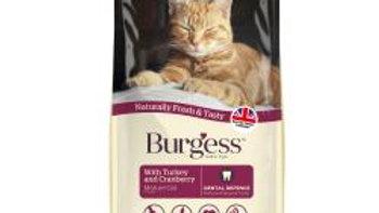 Burgess Mature Cat Turkey & Cranberry 1.4k