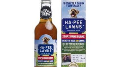 Woof & Brew Ha-pee Lawns