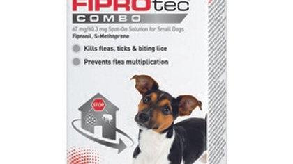 Beaphar FIPROtec COMBO Spot On for Dogs, 3TMNT