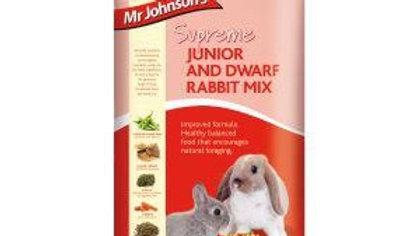 Mr Johnsons Junior & Dwarf Rabbit mix 900g