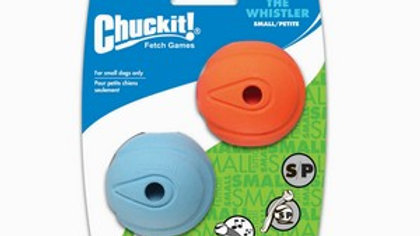 Chuckit The Whistler Ball 2 Pack Small