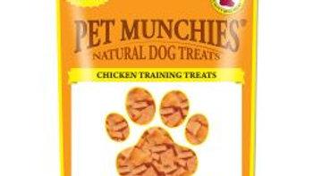 Pet Munchies Natural Chicken Training Treats Super Value Pack, 150g