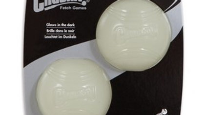 Chuckit Max Glow Balls Medium (2Pk)