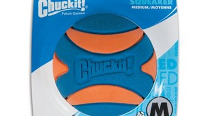 Chuckit Ultra Squeaker Ball 1 Pack Medium 6.5cm
