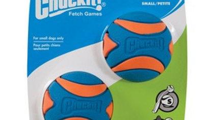Chuckit Ultra Squeaker Ball Small (2Pk)