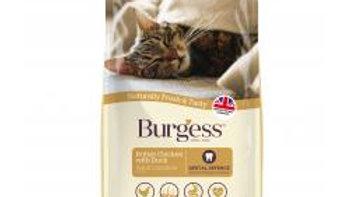 Burgess Adult Cat Chicken & Duck 1.5k