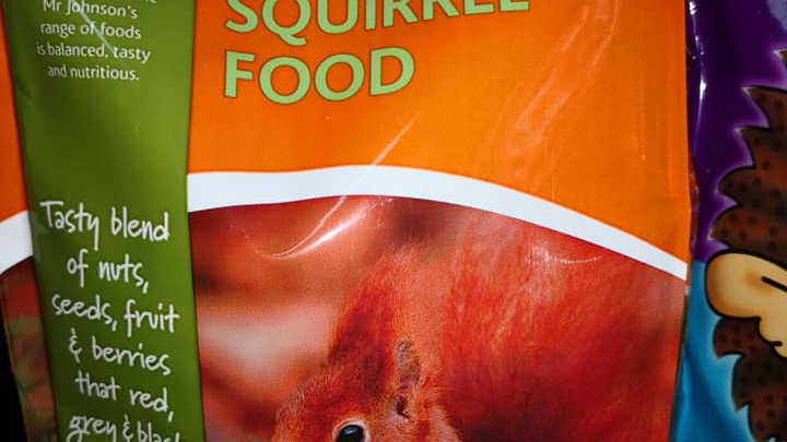 Mr Johnsons Squirrel Food