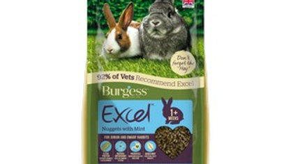 Burgess Excell Junior Rabbit with Mint 2k