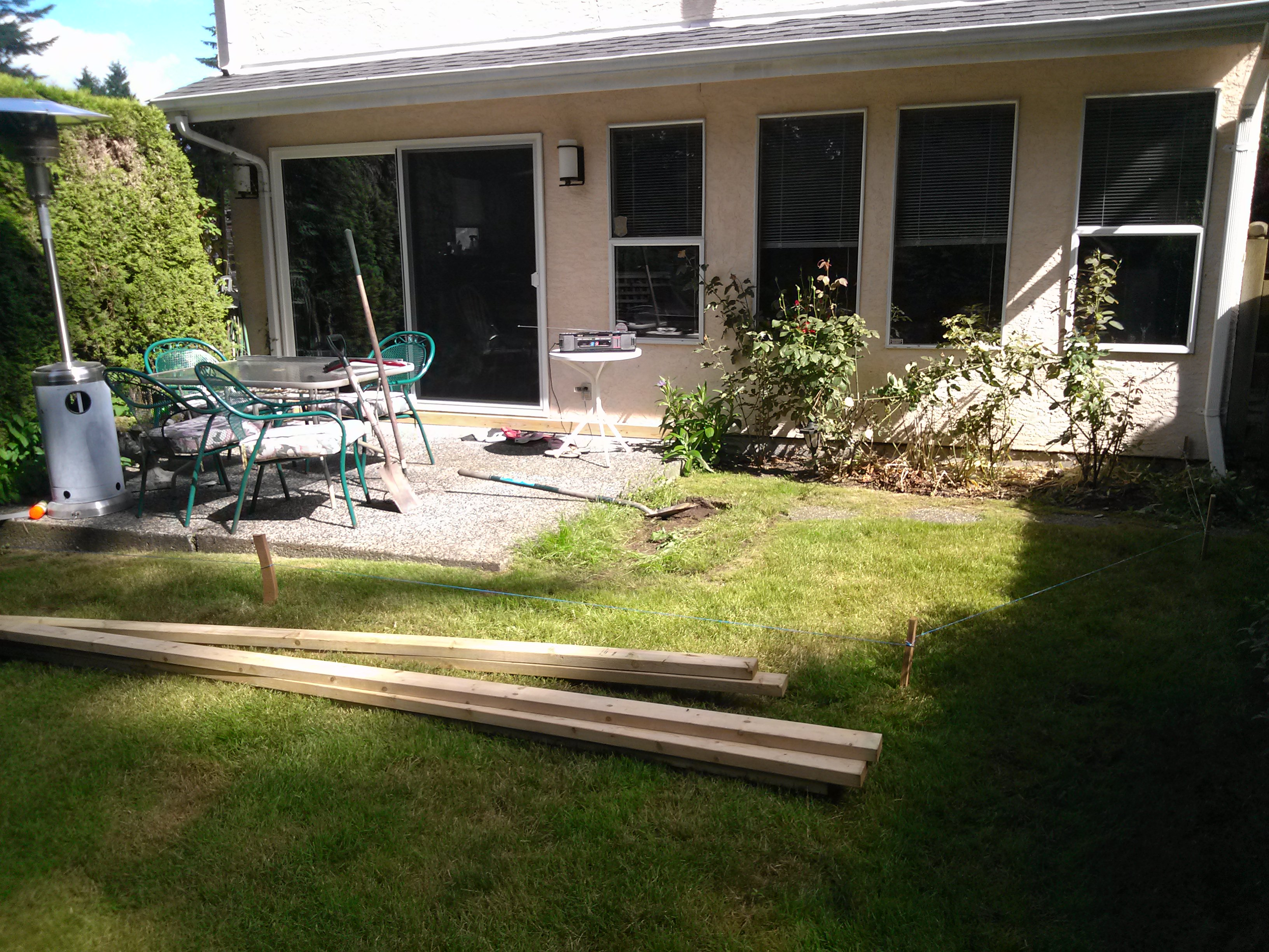 Home Repairs - Deck Before