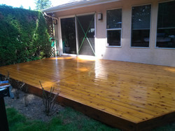 Home Repairs - Deck After